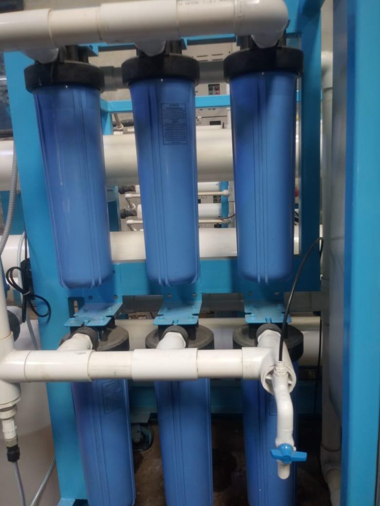 Sistema de ósmosis, proceso de filtración