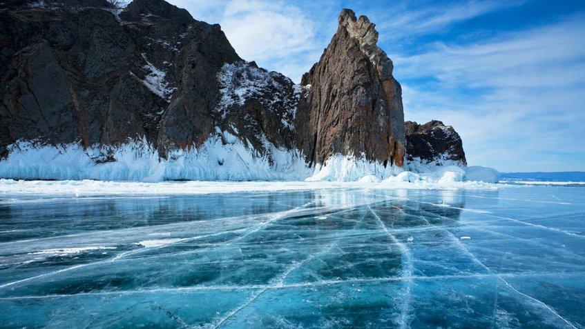Lago Bakal Congelado